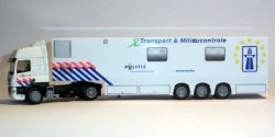DAF CF Sattelzug Polizei Niederlande