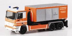Mercedes Benz Actros M Feuerwehr Gerätecontainer