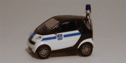 Smart City Coupe Polizei Belgien