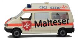 VW T4 Hochdach KTW Malteser Wuppertal