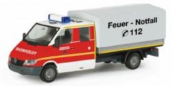 Mercedes Benz Sprinter Doka Pritsche/Plane Feuerwehr Düsseldorf