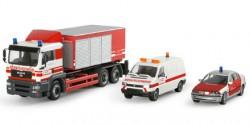 MAN TGA-M Container Werksfeuerwehr infraserv Höchst