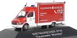Mercedes Benz Sprinter RTW Feuerwehr Münster
