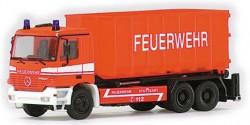Mercedes Benz Actros M Abrolmulden Feuerwehr