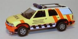 Chevrolet Blazer Medisch Commando Rampenplanning Belgien