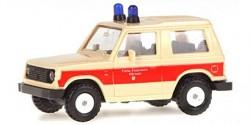 Mitsubishi Pajero First Responder Feuerwehr Hörnum