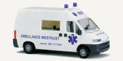 Citroen Jumper RTW Ambulanz Belgien