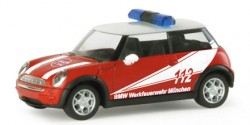 Mini Cooper ELW Werkfeuerwehr BMW München