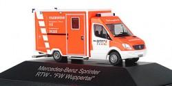 Mercedes Benz Sprinter RTW Feuerwehr Wuppertal