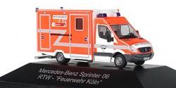 Mercedes Benz Sprinter RTW Feuerwehr Köln