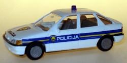 Ford Escort Ghia Polizei Kroatien