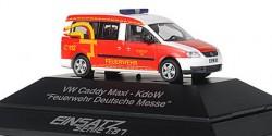 VW Caddy Maxi ELW Feuerwehr Deutsche Messe Hannover