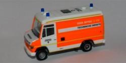 Mercedes Benz T2 Vario LKW 17 Technische Dienste Feuerwehr Düsseldorf