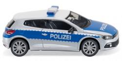 VW Scirocco Polizei