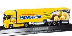 Mercedes-Benz Actros Gigaspace Kühlkoffer-Sattelzug Henglein