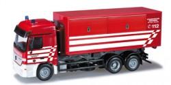 Mercedes Benz Actros L Abrollcontainer-LKW Feuerwehr Bremen