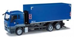 MAN TGS L Abrollcontainer-LKW Fahrschule Bundespolizei