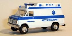 Chevrolet Ambulance RTW Wiesbaden