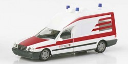Mercedes Benz W210 Binz Rettungsdienst Halle