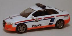 Audi A4 Quattro Verkehrspolizei Luxemburg