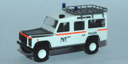 Land Rover Defender Polizei Basel