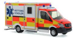Mercedes Benz Sprinter RTW Privater Rettungsdienst Stadler