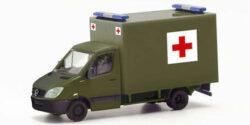 Mercedes Benz Sprinter Koffer Schweizer Militär Rotes Kreuz